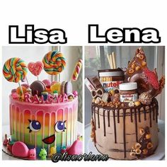 Lena for sure!! Nothing but chocolate to make my day better.