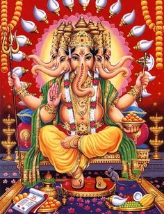 Read the description of top eight avatars or incarnations of Ganesha as mentioned in the Mudgala Purana. To know more about Ganesha avatars, stories of his childhood, marriage and more at The Ganesha Experience.