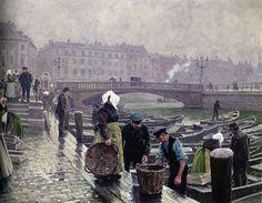 Viático de Vagamundo: Copenhagen by Paul Gustave Fisher (1860-1934)