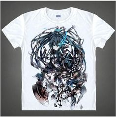 Black Rock Shooter Short Sleeve Anime T-Shirt V15