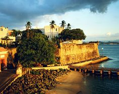 "Getty Images  San Juan is known as La Cuidad Amurallada, or ""the walled city"""