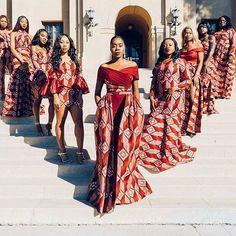 This item is unavailable Wedding dress/bridal train/asoebi/shower/African print dress/dashiki print/women fashion/ankara dres African Fashion Designers, African Fashion Ankara, African Print Fashion, African Wear, African Attire, African Dress, Ankara Dress, Africa Fashion, African Prints