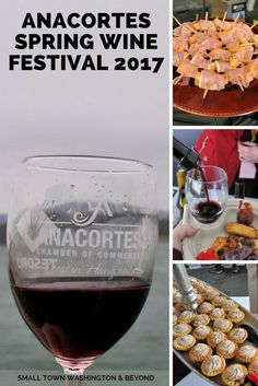 Looking for a fun spring activity in Western Washington? At the Anacortes Spring Wine Festival, you can sample 30 Washington wineries and local foods.