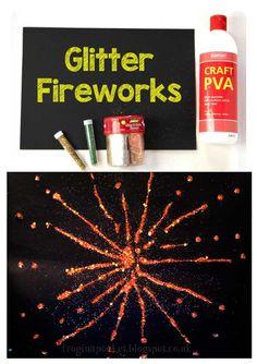 Bonfire Crafts For Kids, Bonfire Night Activities, Fireworks Craft For Kids, New Years Activities, Art Activities For Kids, Winter Crafts For Kids, Autumn Crafts, Holiday Activities, Nature Crafts