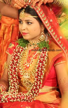 Latest Indian Gold and Diamond Jewellery Designs: South indian bridal jewellery