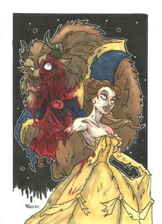 Zombie Belle and Beast, Disney's Beauty & the Beast