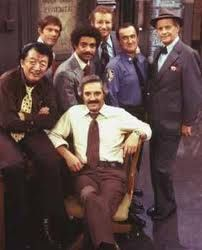"Barney Miller - The episode in which they unknowingly eat hash brownies is my favorite. Jack Soo cracks me up. ""What do you say we go down to the beach and shoot some clams."""