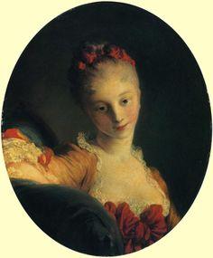 Jean-Honore Fragonard: 'Mademoiselle Guimard' c. 1768