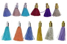Tassels : Continental Bead Suppliers, Fine Wholesaler of Coustume Jewlery Parts and Supplies