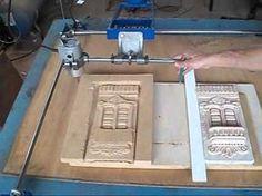 copiadora manual 3d artesanagem - YouTube