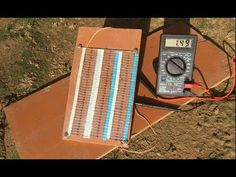 Free Energy 100% , How to make 2W solar cell from 100 zener diodes - YouTube