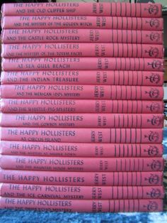 Vintage The Happy Hollisters Lot 15 HC Books VGUC 1960's Jerry West