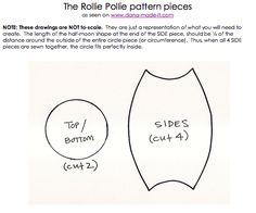 Babzsákhoz - So You Think You're Crafty: Rollie Pollie!