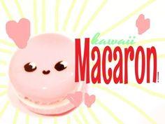 Macarons kawaii
