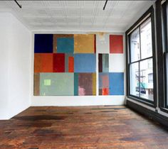 Private home and studio of artist Donald Judd (1928-1994) at 101 Spring Street, Soho, NYC.
