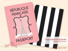 Printable Paris Party Passport Invitation (Customized) from the oh la la Party Collection by Paper Built by PaperBuiltShop on Etsy https://www.etsy.com/listing/130158017/printable-paris-party-passport