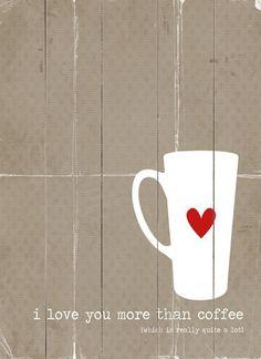 I Love You More Wall Decor