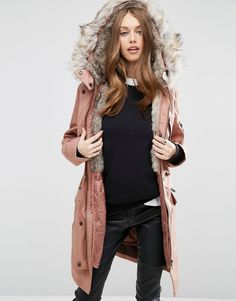 Asos Parka With Detachable Faux Fur Liner Parka by ASOS Collection, Heavyweight canvas, Detachable faux-fur lining, Hood with detachable trim, Concealed zip fastening, Press stud placket, Drawstring waist, Functional pockets, Regular fit - true to size, Machine wash, 100% Cotton, Our model wears a UK 8/EU 36/US 4 and is 175cm/5'9 tall. ABOUT ASOS COLLECTION Score a wardrobe win no matter the dress code with our ASOS Collection own-label collection. From polished prom to the after party, our…