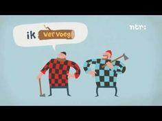 Wanneer eindigt een werkwoord op d, t of dt? - YouTube