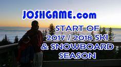 "7 YO Josh ""Start of 3rd Snowboard Season"" (2017 / 2018) ❤️🏂 Advanced Level Snowboarding Video Clips from Nov 10 (Clear Sunny Opening Day), 16 (Heavy Snow) & 23 (Slush Rain). Josh (JoshGame.com) will be 7 YO all season until June 10. ❤️🏂"