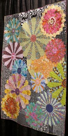 My Flower Plates by Candyce Grisham