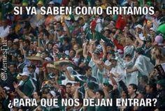 La FIFA perdona a la afición mexicana.... ¡Ehhhhhhh Putoooooo!
