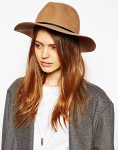 Asos Felt Fedora Hat on shopstyle.com