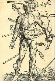 Artist: Hans Wechtlin, Title: Feldbuch der Wundartzney, Page: 62, Date: 1528