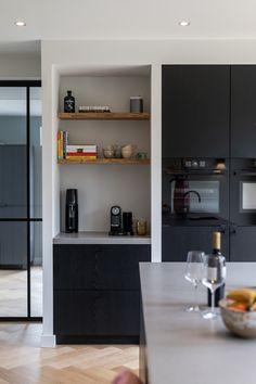Kitchen Interior, Interior And Exterior, Bathroom Toilets, Scandinavian Interior, Minimalist Design, Interior Inspiration, Living Area, Home Kitchens, Sweet Home