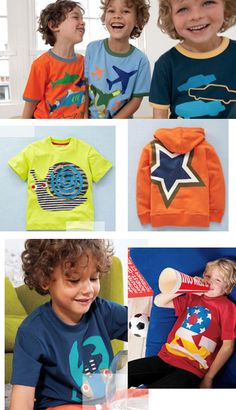 I love this brand for my son. He is so busy. Well made clothes, that I want to keep clean and green!