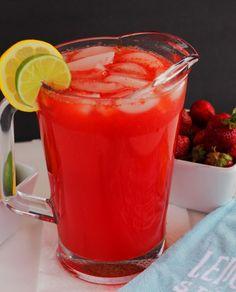 Stawberry Lime Lemonade