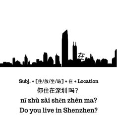 The Different Uses of 在 zai in Chinese Learn Mandarin, Simple Sentences, Chinese Words, Chinese Language, With, Shanghai, Languages, Grammar, Culture