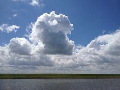 Sky above Zeeland.