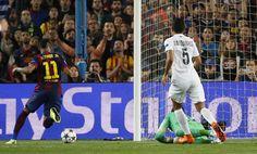 Neymar skóre skorý gól za Barcelonu