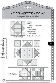 moda sampler shuffle - Google Search                              …