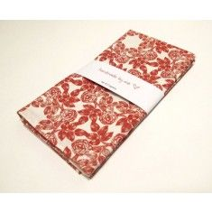 Indigo Red Napkins (set of 2)