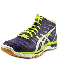 ASICS Asics Gel-Cyber Shot Mt Women  Round Toe Synthetic Purple Walking Shoe'. #asics #shoes #sneakers
