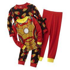 Iron Man 4-pc. Pajama Set - Boys 4-10