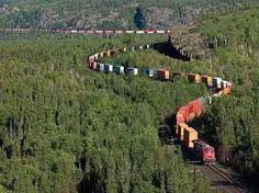 The Canadian Railway