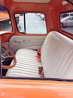 '57 Chevy Truck Interior 55 Chevy Truck, 1956 Ford Truck, 1955 Chevy, Classic Chevy Trucks, Vintage Pickup Trucks, Vintage Trailers, Hot Rod Trucks, Gmc Trucks, Rat Rods