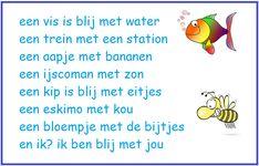 Opzegversje digibordonderbouw,nl School, Words, Blog, Albania, Gift, Blogging, Horse