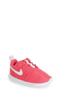 Nike+'Roshe+Run'+Sneaker+(Baby,+Walker+&+Toddler)+available+at+#Nordstrom