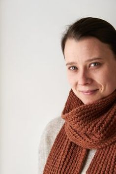 Rick Rack Scarf pattern by Purl Soho Knitting Stiches, Easy Knitting Patterns, Arm Knitting, Knitting Projects, Rick Rack, Knit Stitches For Beginners, Fleur Orange, Purl Soho, Learn How To Knit