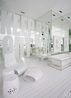 Белоснежная квартира-студия в Сан-Паулу | AD Magazine