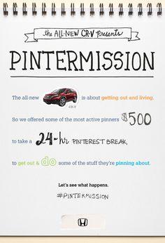 #Pintermission