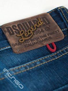 Garra, Id Design, Label Design, Colored Denim, Blue Denim, Leather Label, Mens Gear, Denim Branding, Jeans Brands