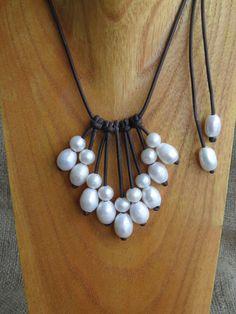 perles et cuir