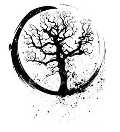 circle tree tattoo - Google Search