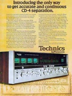 Technics SA-8500X - Vintage Audio Ads - classicaudio.com