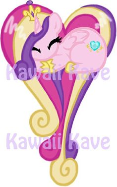 Cadance in a heart by Evehly on DeviantArt Fluttershy, Mlp, Princess Cadence, Homemade Stickers, My Little Pony Drawing, Kawaii Wallpaper, Believe In Magic, Rainbow Dash, Heart Shapes
